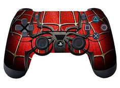 Red Cool Spider for Controller Playstation 4 Skin Sticker Cover Part Gift - - Ideas of - Red Cool Spider for Controller Playstation 4 Skin Sticker Cover Part Gift