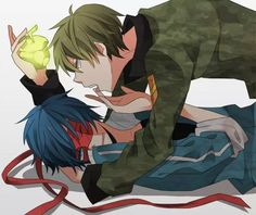 Flippy x Splendid from Happy Tree Friends :3 ♥