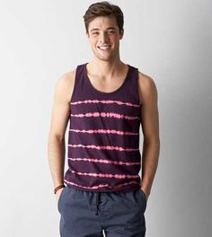 AEO Patterned Tank - Free Shipping