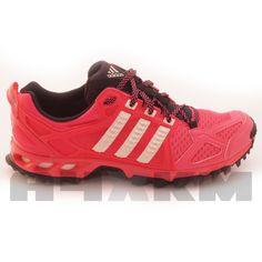 online store 7e4b4 2d8dc Zapatillas Adidas Kanadia TR 6 de trail running para mujer en color rosa y  gris.