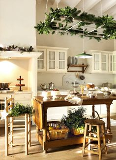 ChicDecó: | Christmas homes: a white country house