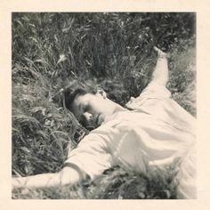 Asleep - c. 1940s - (Via)