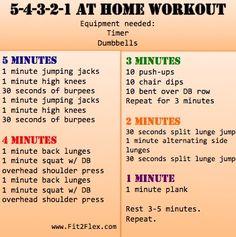 Google Image Result for http://itsprogressionnotperfection.files.wordpress.com/2012/06/5-4-3-2-1-at-home-workout.jpeg