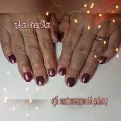 oja semipermanenta galaxy Nails, Beauty, Finger Nails, Beleza, Ongles, Nail, Cosmetology, Manicures