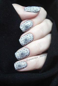 stamping nail art TU-L29