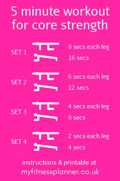 Exercise planner |We all want flat abs, but if time's short then calorie burning cardio often takes priority over workouts for abs. Try these 5 minute abs exercise routines | Free exercise planner printable for at home workout | workout schedule from My Fitness Planner Exercise Planner, Fitness Planner, Printable Planner, Planner Stickers, Printables, Planner Tips, Planner Supplies, Abs Workout Routines, Workout Schedule
