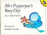 """P is for Mrs Pepperpot (known in Norwegian as the """"Teaspoon Lady"""")"""
