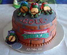 ninja+cakes | Teenage Mutant Ninja Turtle Cake