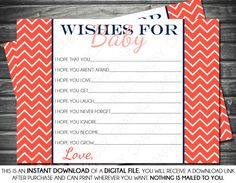 Instant Download Baby Girl Wishes for Baby by SassyGraphicsDesigns