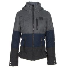 The Obermeyer Leighton Insulated Ski Jacket is full of skier specific features for the Women who embrace passion for spo..