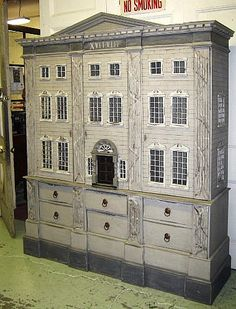 Invaluable: Bid Online in Art Auctions, Estate Auctions, Jewelry Auctions and more. (dolls house cupboard with three shelves)