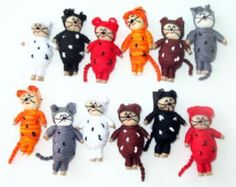 Coya Worry Dolls Latin American Bulk Lot of by sweetllamasupplies