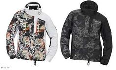 Ski Doo Mcode Jacket 2013 Black with Graphics Mixed Color 440596 Ecklund Motorsports $154.99