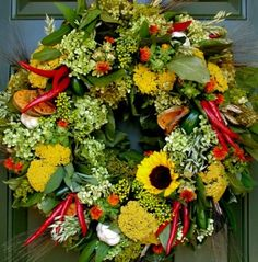 harvest glory wreath by Circle Home and Design