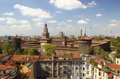 Ecco che vista riserva questo splendido terrazzo, bella da togliere il fiato!  LOVE MILAN