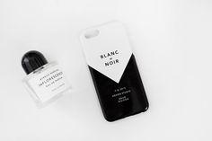 BLANC et NOIR Dear Maison design iPhone6 case www.dearmaison.com dearmaison@gmail.com