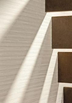 PORCELAIN STONEWARE WALL TILES PHENOMENON RAIN BIANCO PHENOMENON COLLECTION BY MUTINA | DESIGN TOKUJIN YOSHIOKA