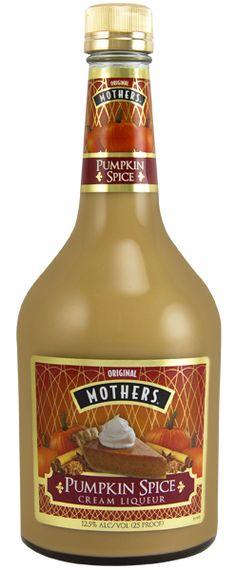 MOTHERS®: Pumpkin Spice Cream Liqueur