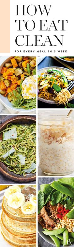 How to Eat Clean for All 21 Meals This Week (Even If You're Lazy) #purewow #recipe #healthy #wellness #hack #food