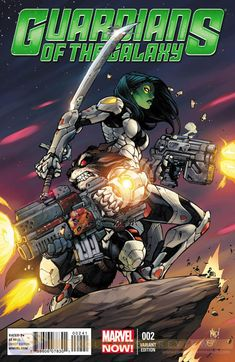 Check Out Joe Madureira's GUARDIANS OF THE GALAXY #2 Variant Cover