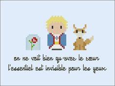 The Little Prince parody Cross stitch PDF by cloudsfactory