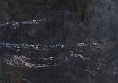 Miriam Vlaming, Mond, 2015, Egg tempera on canvas, 50 x 70 cm, Courtesy Galerie Dukan | Galerie Dukan