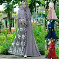 Abaya Fashion, Muslim Fashion, Fashion Wear, Fashion Models, Womens Fashion, Muslim Girls, Muslim Women, Hijab Chic, Islamic Clothing