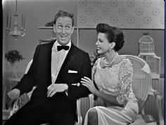 Ray Bolger (who played The Scarecrow in The Wizard of Oz) on The Judy Garland Show, 1963