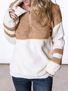 Jenkoon Women Charming Long Sweater Turtleneck Cable Knit Tunic Sweater Tops with Bead