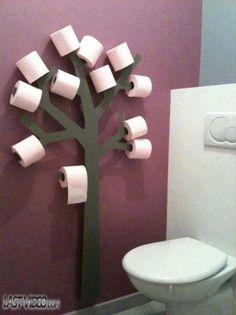 Arbre à papier toilette
