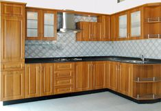 U Shaped Modular Kitchen Designer in Chandigarh - Call Chandigarh Kitchens for your U Shaped Kitchen Furniture design consultation in Chandigarh, we will help you to create the Kitchen of your dreams.