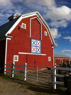 Barn Quilt. Kittitas County, WA