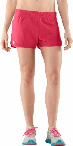 $24.99 nice Under Armour Women's UA Tidal Cotton Shorty Small Hibiscus