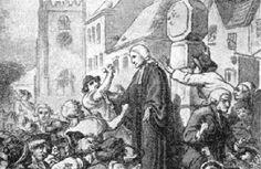 A Prática Homilética de John Wesley II Conselho aos pregadores, 1º de agosto de 1786 (Minutes, 193-34) 1. Sempre conclua o culto em cerca de uma hora. 2. Nunca grite. 3. Nunca se apoie ou bata na Bíblia. 4. Onde quer que você pregue, reúna a Sociedade. […] 7. Nunca pregue um sermão fúnebre a não ser por uma pessoa eminentemente santa; nem, ainda, sem consultar o Assistente. Não pregue por dinheiro. Cuidado com panegíricos, particularmente em Londres. […].