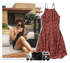 """""""Spending the day with Danielle"""" by shefi-22 ❤ liked on Polyvore featuring Abercrombie & Fitch, Christian Dior, Giuseppe Zanotti, women's clothing, women, female, woman, misses and juniors"""