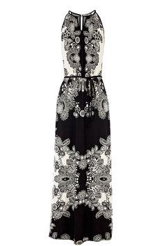Lace Print Maxi Dress | Multi | Oasis Stores