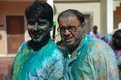 Taarak Mehta & Mr. Bhide are posing for a photograph