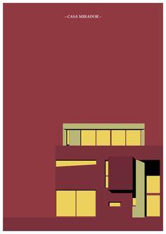 casa mirador ILLUSTRATION BY RAUL ALEJANDRO  MARTINEZ MEDINA