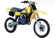 Suzuki RM 80 1986 my first dirtbike