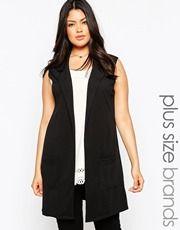 New Look Inspire Sleeveless Blazer