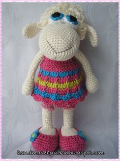 Amigurumi Sheep Doll