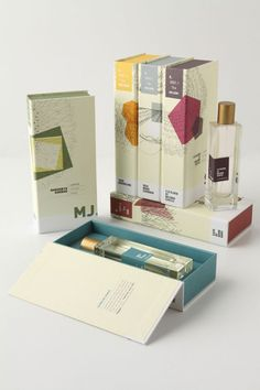 A Rather Novel Collection. Anthropologie packaging.