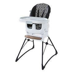 Jonathan Adler Crafted by Fisher Price Deluxe High Chair is a chic 2-in-1 chair…