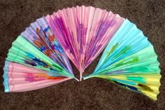 Japanese Hand Fans from Classified: Mom