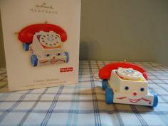 Hallmark Keepsake Ornament 2009 Chatter Telephone Fisher Price