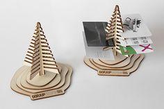 Business gift - Flat Pack Visiting Card Holder on Behance