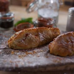 Shakespeare's Codpiece Recipe A filo pastry parcel filled with spicy pulled pork