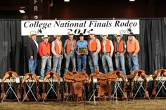 CONGRATS to the 2014 NATIONAL CHAMPIONS Men's Team at CNFR 2014! UTM MEN'S RODEO TEAM