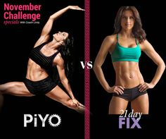 Christmas Weight Loss Challenge It's a TOSS UP for this months Fitness & Weight Loss Challenge! Will it be PIYO, the combo of Pilates. Piyo Results, November Challenge, Keep Fit, Weight Loss Challenge, 21 Day Fix, Home Based Business, 21 Days, Beachbody, Pilates