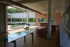 Le Corbusier and Pierre Jeanneret, Pierre Jeanneret, Le Corbusier, Modern Architecture, Design Projects, Villa, Exterior, Windows, Outdoor Decor, Muse